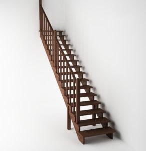 Лестница на второй этаж фото 1